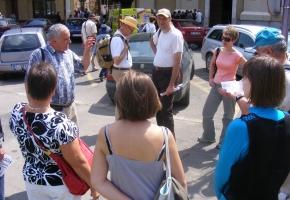 Városnézés Szent László városában